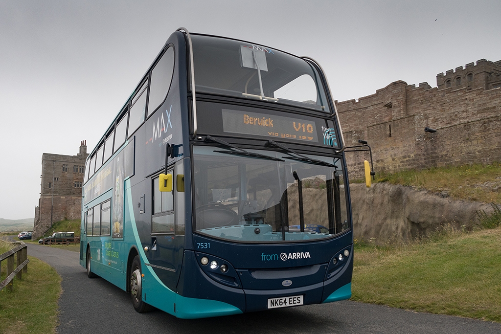 New Sightseeing Tour on the Arriva Coast & Castles Bus