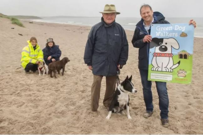Green Dog Walkers Scheme is unleashed