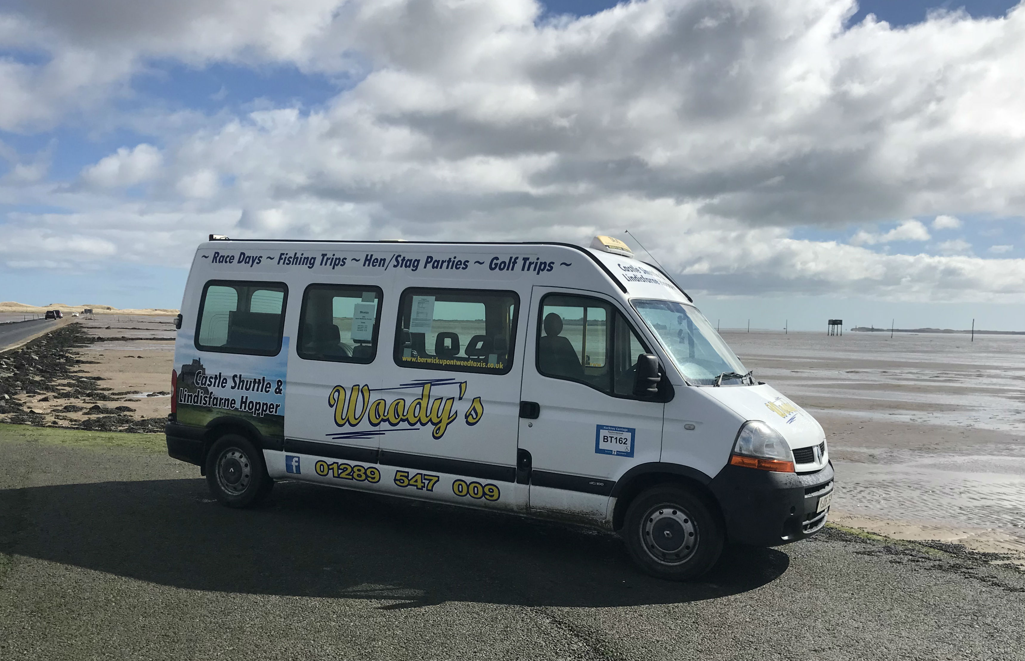 Hop aboard the Holy Island Shuttle