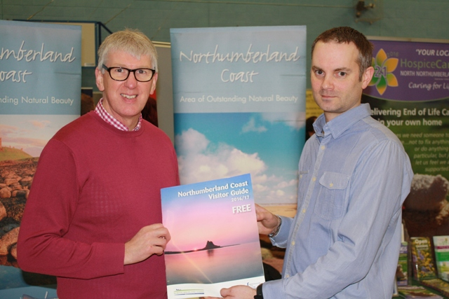 Our popular Visitor Guide launched at busy Alnwick Tourism Fair