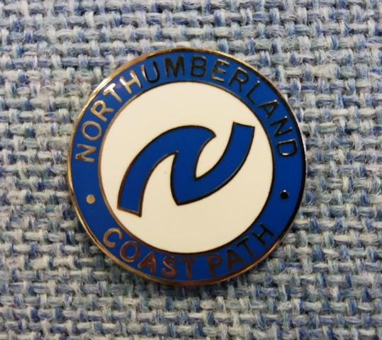 Coast Path Pin Badge