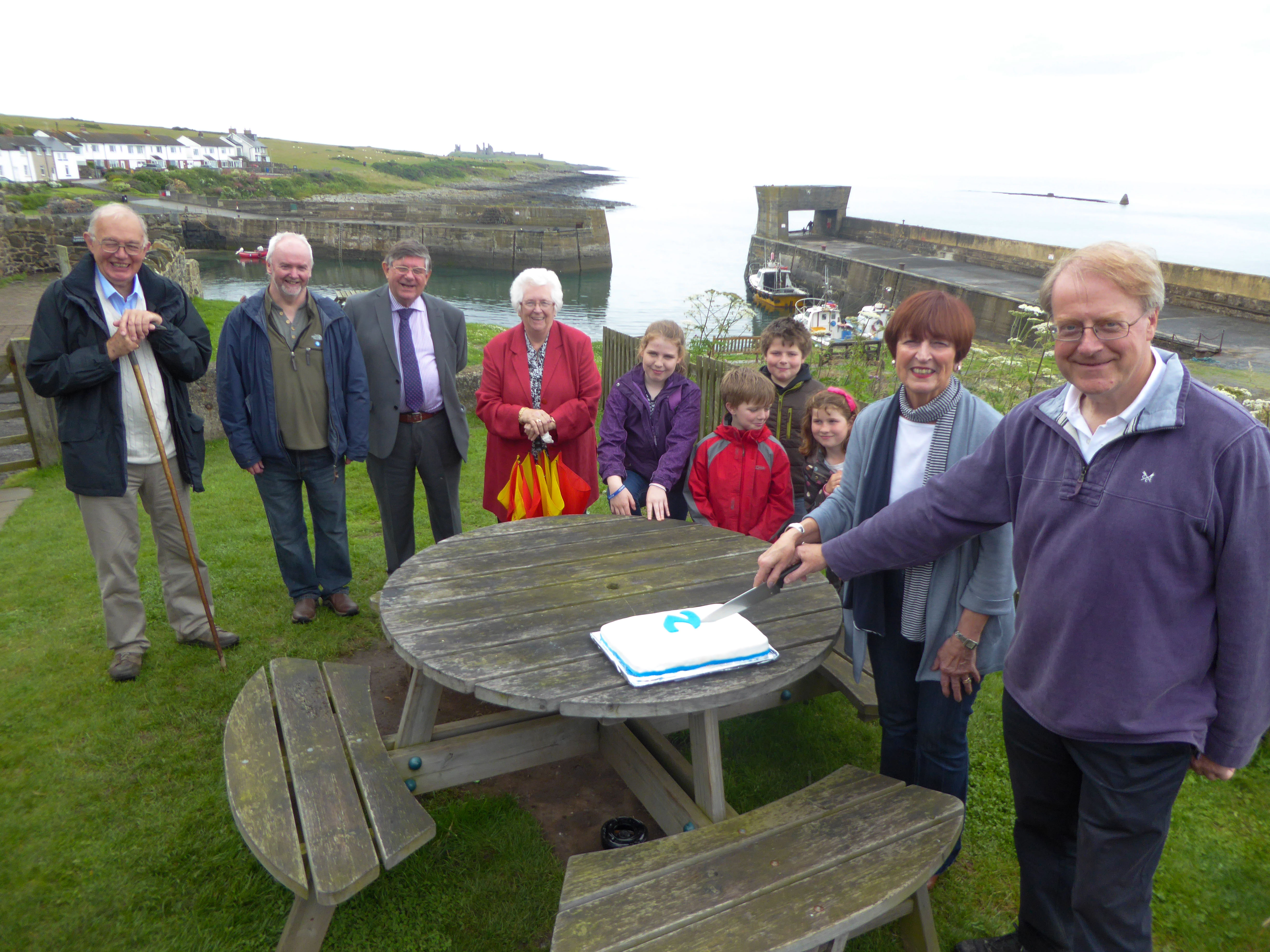 Celebrations for ten years of the Northumberland Coast Path